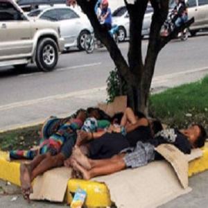 Manila's homeless